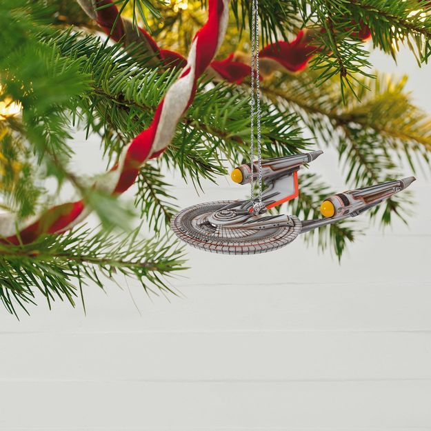 STAR TREK BEYOND™ U.S.S. Franklin™ Ornament With Light | Star trek ...