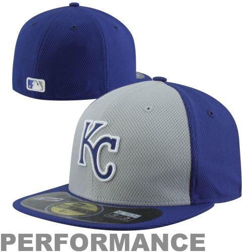 finest selection 77d71 72ba1 New Era Kansas City Royals Diamond Era 59FIFTY Fitted Hat – Royal Blue Gray