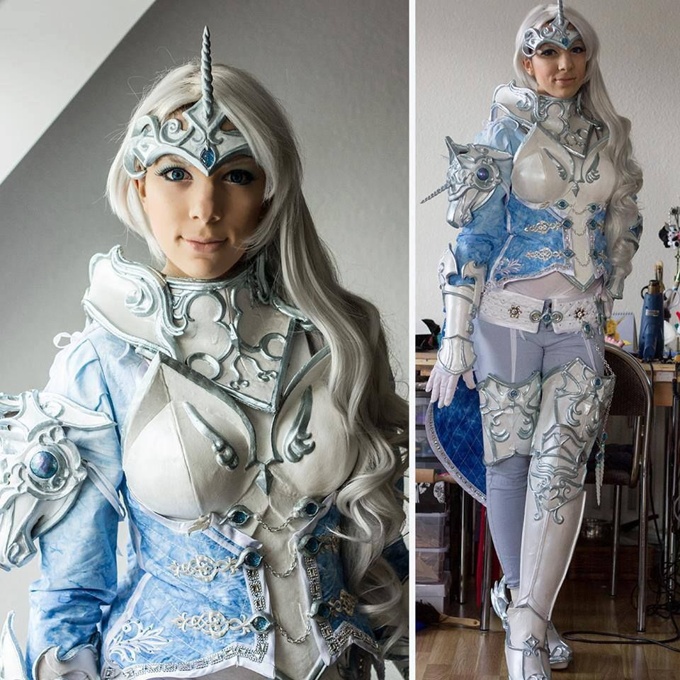 Aion Cosplay unicorn armor set from aion   cosplay - assorted (3)   pinterest