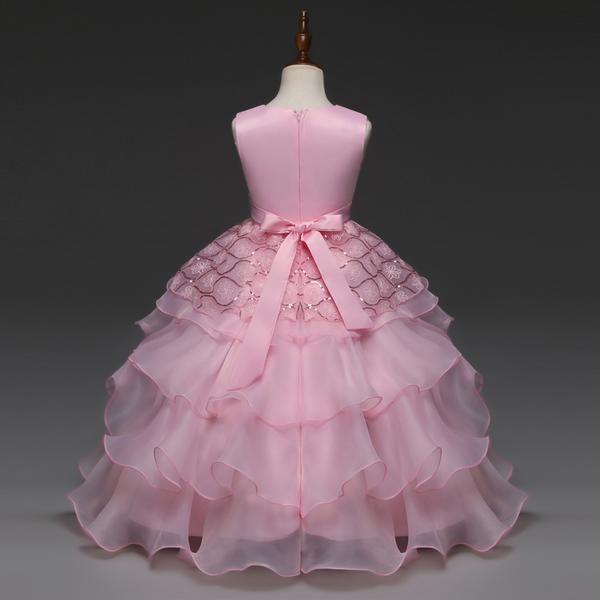 Vestido elegante para niñas entre 4-10 años | Pinterest | Vestidos ...