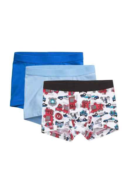 Get The Trend 10 Pack Boys Kids Briefs Shorts Underwear Children Trunks Cotton Boxers Pants