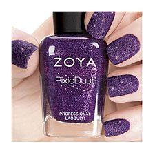 www.zoya.com  zoya nail polish pixiedust ZP700    CARTER