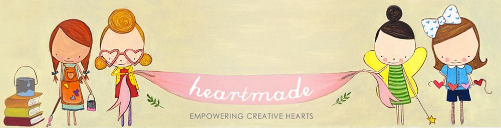 Heartmade Blog a cute blog by a cute and funny girl, talking about creative business in an engaging way