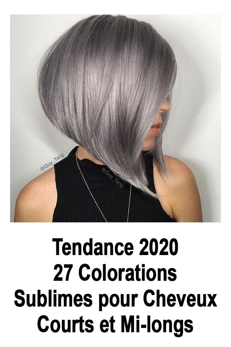 Tendance 2020 : 27 Colorations Sublimes pour Cheveux Courts et Mi-longs