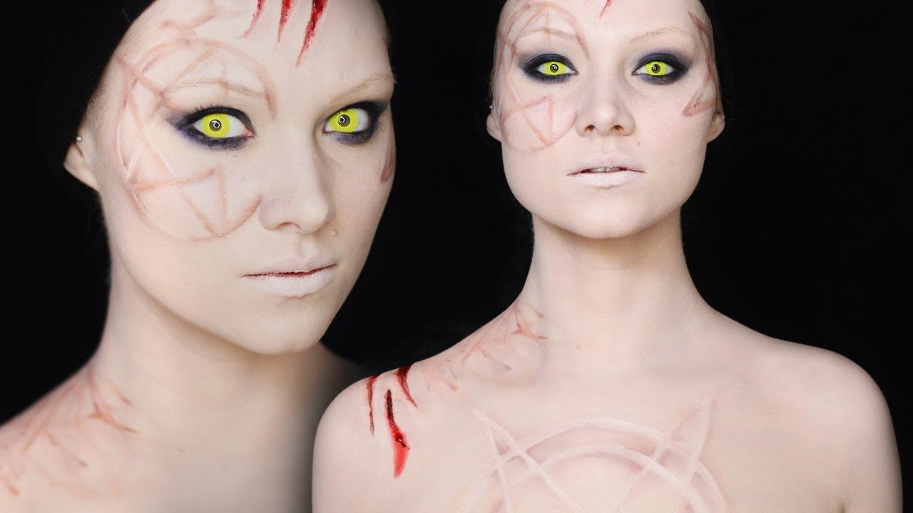 hecate makeup tutorial | how to make scars without… | madeyewlook