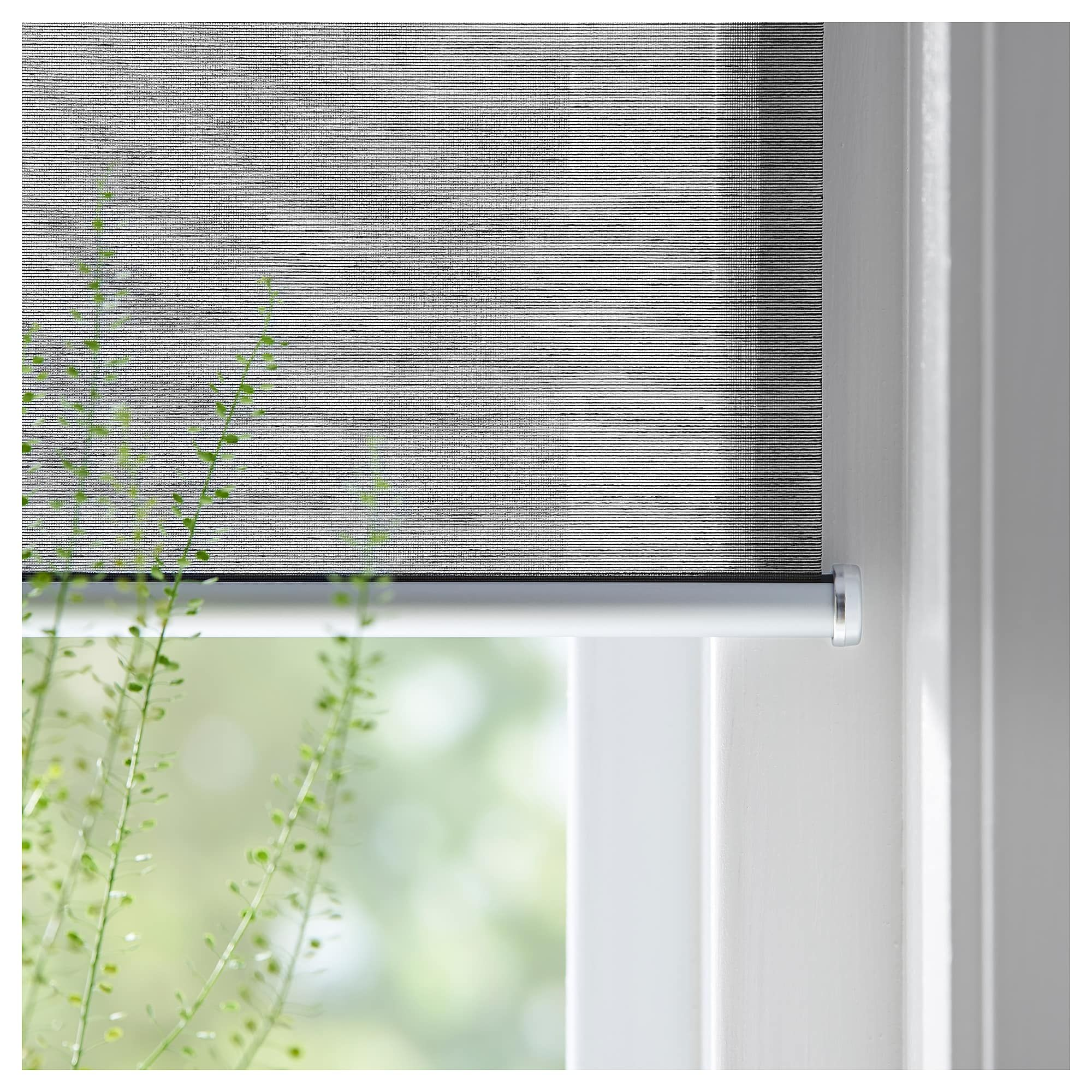Ikea Skogsklover Gray Roller Blind Blinds Grey