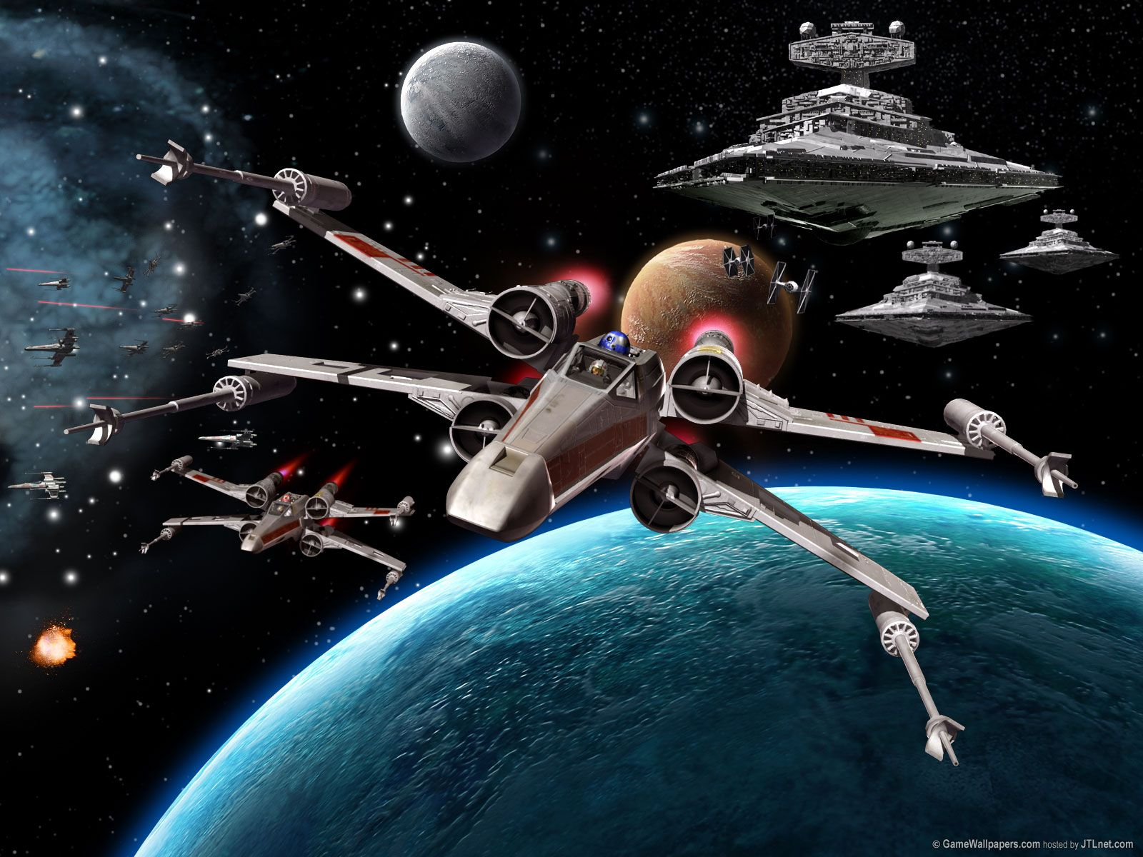 Star Wars Space Battle Wallpaper Wallpapers 2020 Check More At