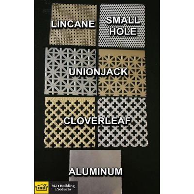 M D Building Products 36 In X 36 In Lincane Aluminum Sheet In Silver 57182 Aluminum Sheet Metal M D Building Products Aluminium Sheet