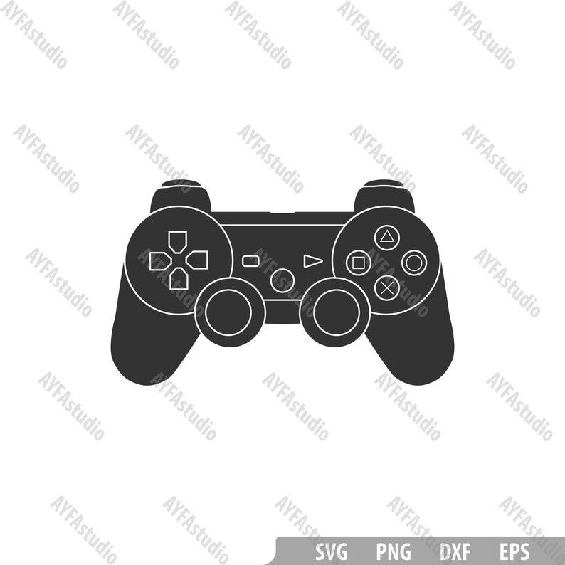 Video Game Controller Svg Xbox Controller Design Playstation Etsy Print Planner Digital Sticker Etsy