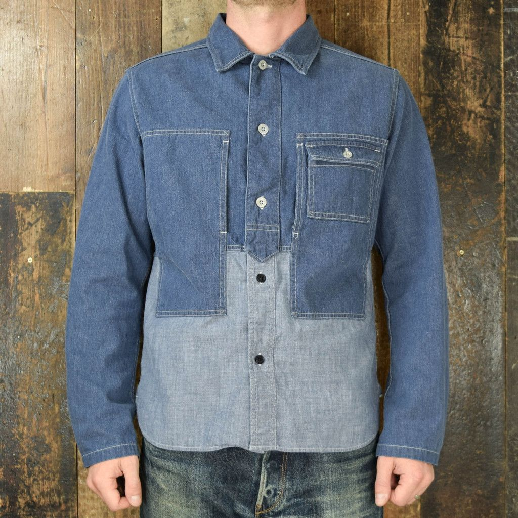 5d24317eee2568 NIGEL CABOURN UTILITY JACKET - 7.5OZ DENIM – Pickings and Parry ...