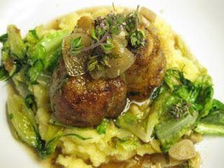 Rosie Ramsden's osso bucco recipe with braised lettuce and polenta  www.amazon.c... - #braised #bucco #lettuce #Osso #Polenta #Ramsdens #recipe #Rosie #wwwamazonc #ossobuccorezept
