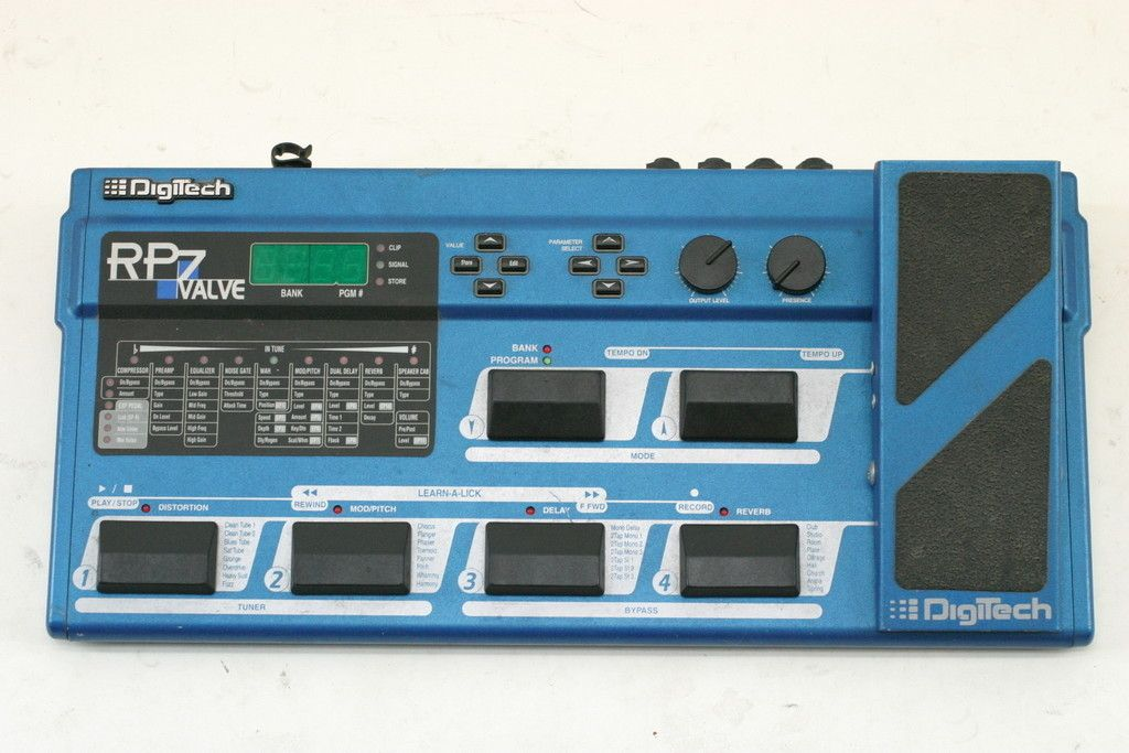 Digitech Rp7 Valve Multi Effects Processor W Expression Pedal In Edwaters Garage Sale Plant City Fl Effects Processor Garage Sales Effects Pedals