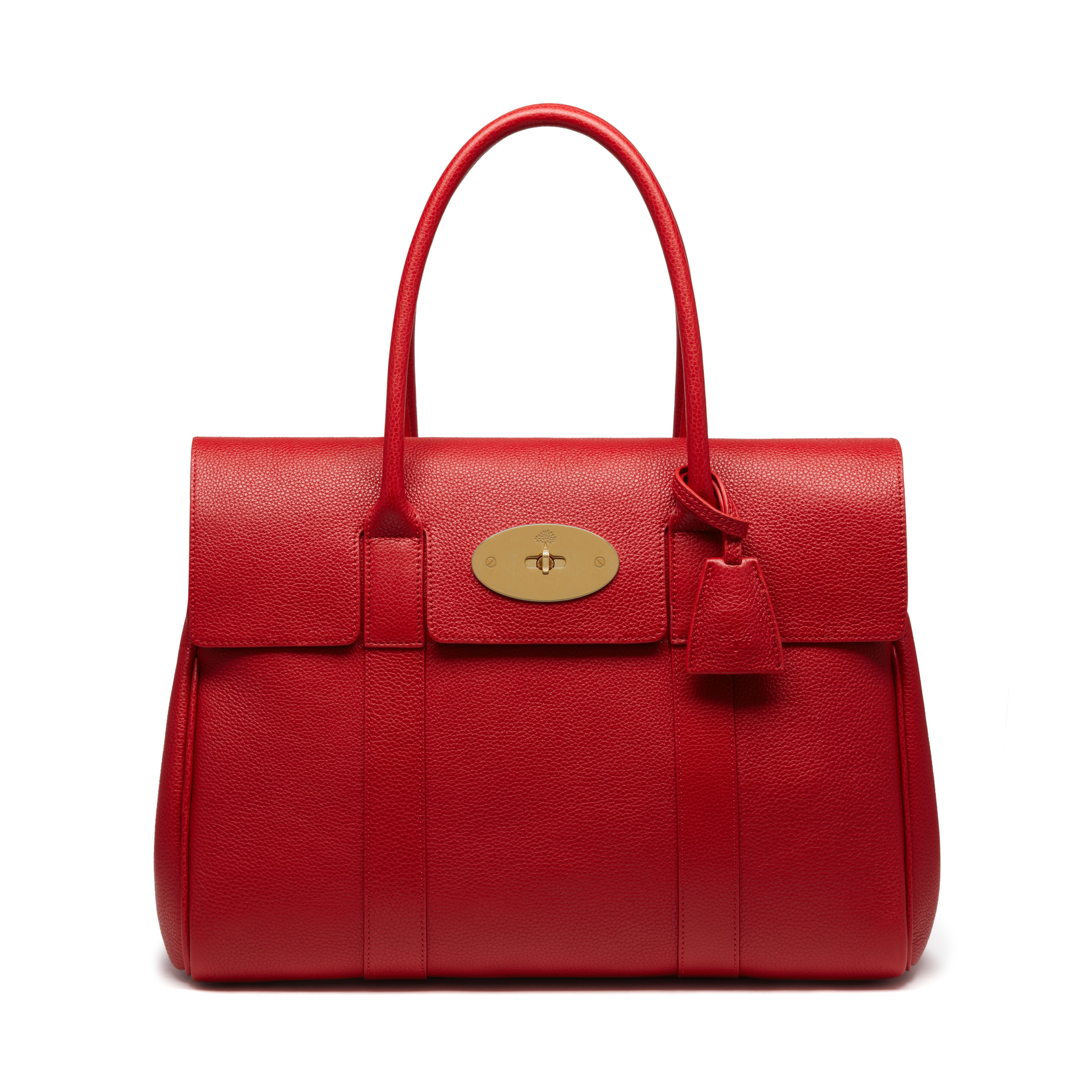 644b4a118e Mulberry - Bayswater in Scarlet Small Classic Grain · Shoulder  HandbagsLeather Shoulder BagsRed ...