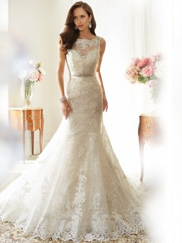 Trumpet Mermaid Lace Wedding Dress