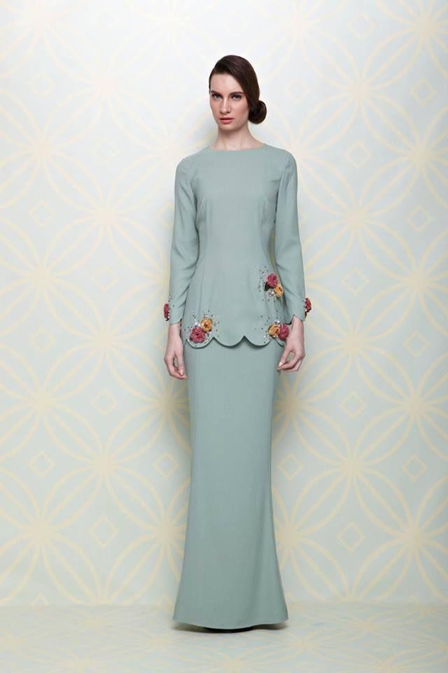 Fesyen Baju Kurung Moden Rizalman Baju Kurung Moden Lace