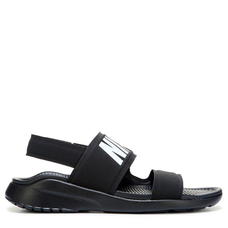 e3b41cfb7fbe Nike Women s Tanjun Sandals (Black White Black)