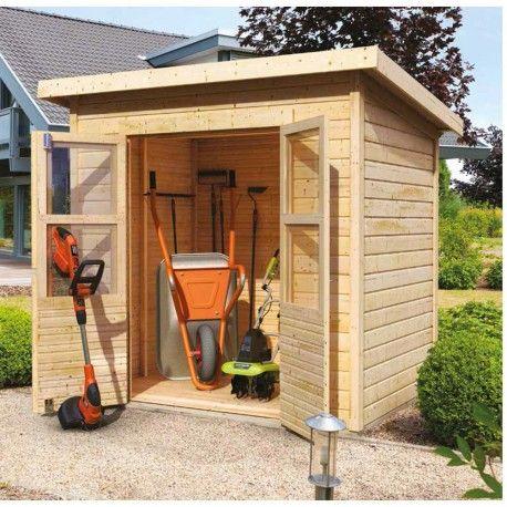 Petit abri de jardin en bois 2,22m² Merseburg 2 - Karibu ...