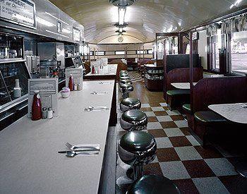 Small Town Diner American Diner Vintage Diner Diner