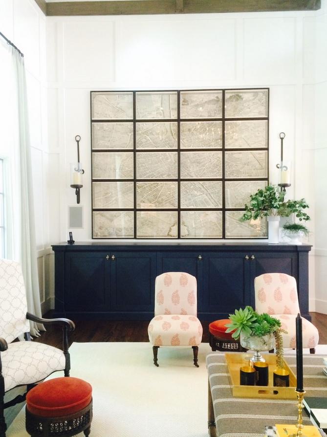 Turgot Plan de Paris map living room | art gallery | Pinterest ...