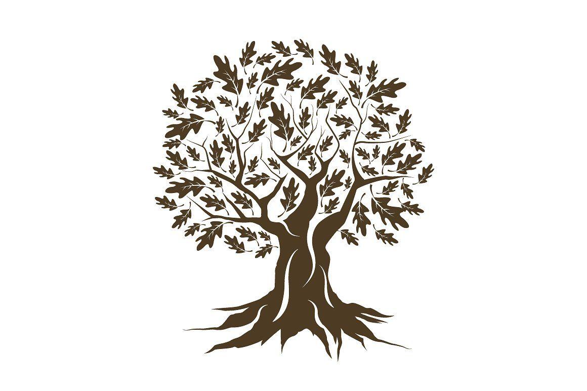 Related Image Oak Tree Silhouette Oak Tree Tattoo Oak Tree Drawings