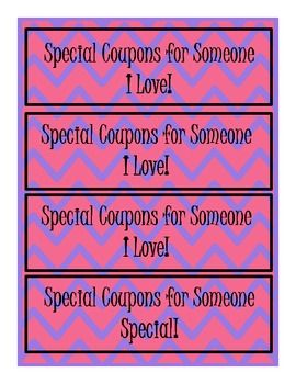 Funky Mothers Day Coupon Book