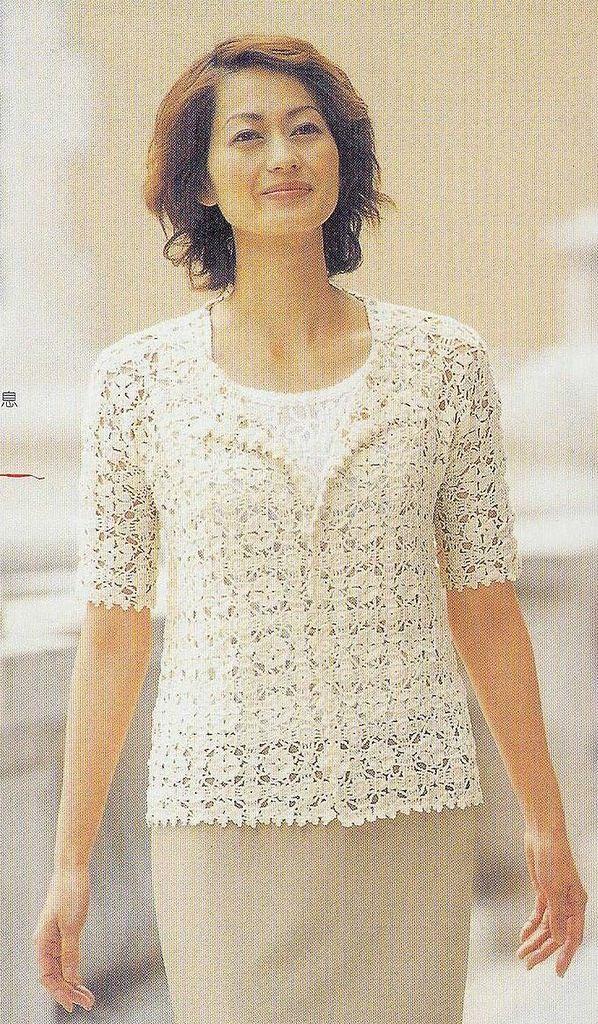 Free crochet pattern top blouse shirt crochet pinterest free free crochet pattern top blouse shirt dt1010fo