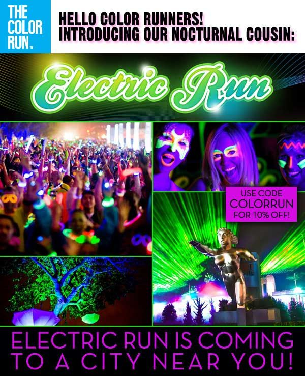 Electric Run I Would Probably Have An Epileptic Seizure But M Willing To Find Out