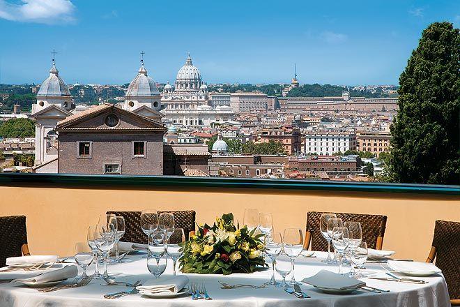 Hotel Eden\'s fabulous restaurant La Terrazza | 25 | Pinterest ...