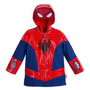 Spiderman Boys Raincoat