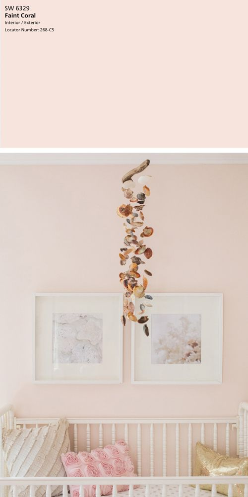 Sherwin Williams Faint C Blush Pink Paint Colors Nursery