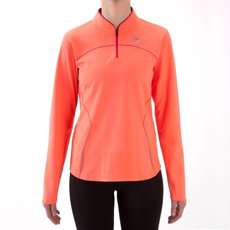 Running Textil Camiseta Térmica De Running Mujer Kalenji Ekiden Naranja Ropa Ropa Deportiva Ropa De Mujer