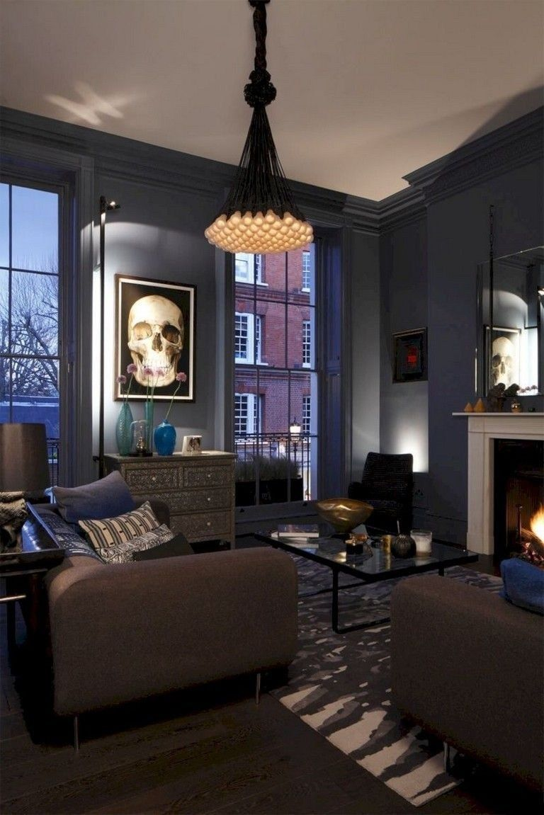 38 Wonderful Inspiring Gothic Living Room Design Ideas Below Are