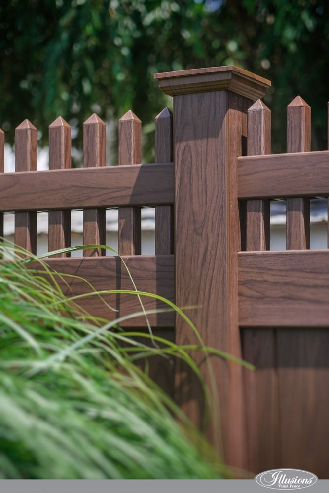 37 Incredible Vinyl Wood-Grain Fence Images from Illusions ...