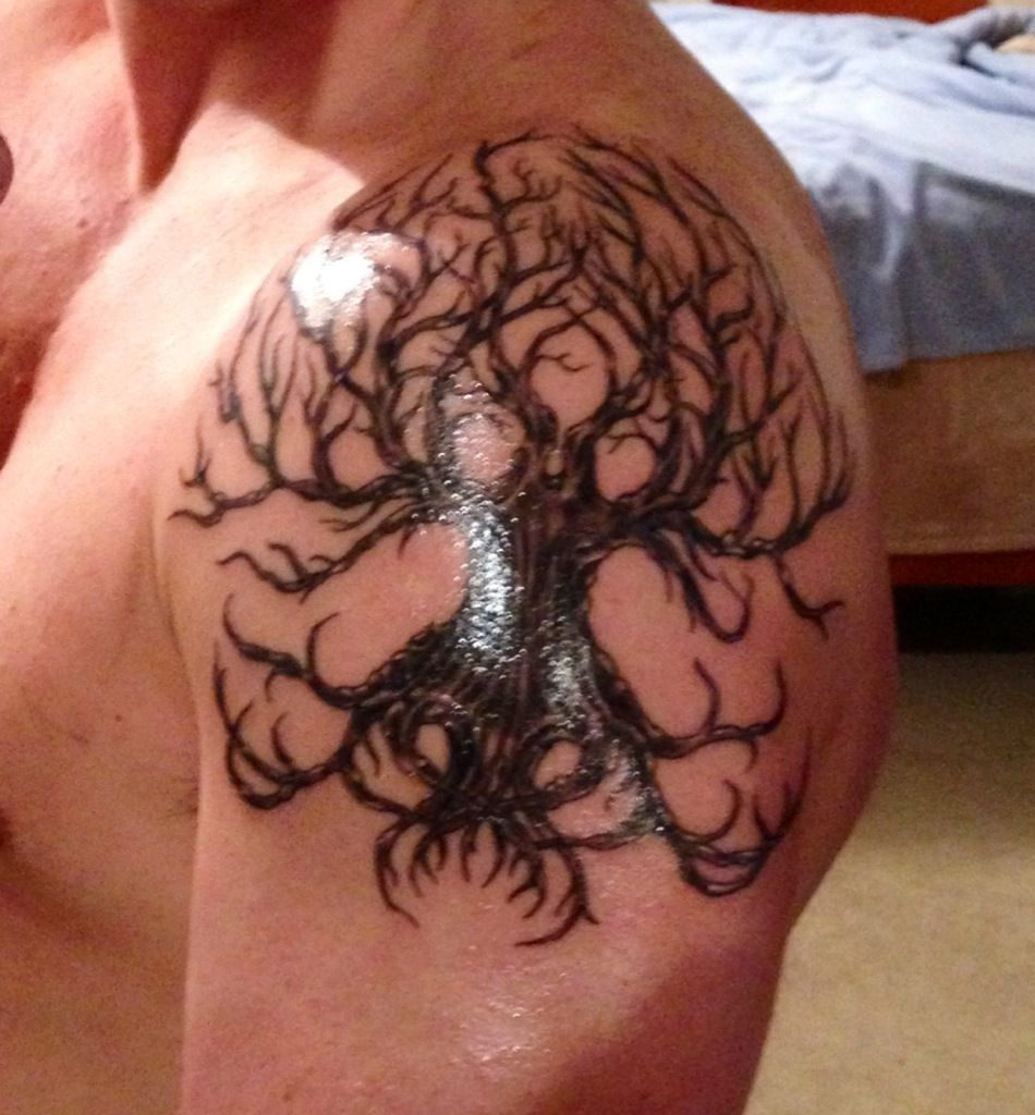 the 25 best celtic tree tattoos ideas on pinterest celtic tree of life life tattoos and. Black Bedroom Furniture Sets. Home Design Ideas