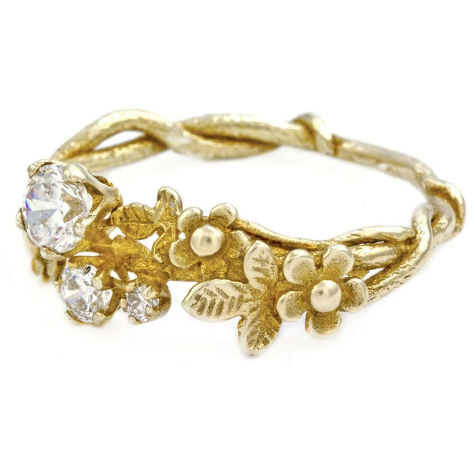 unconventional engagement rings - Unconventional Wedding Rings