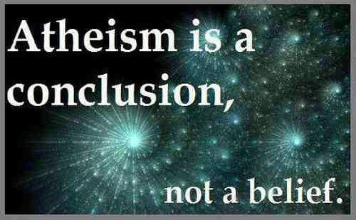 """Is atheism really a religion, or an """"anti-religion""""? Is there really no presuppositions to lead to this position?"""