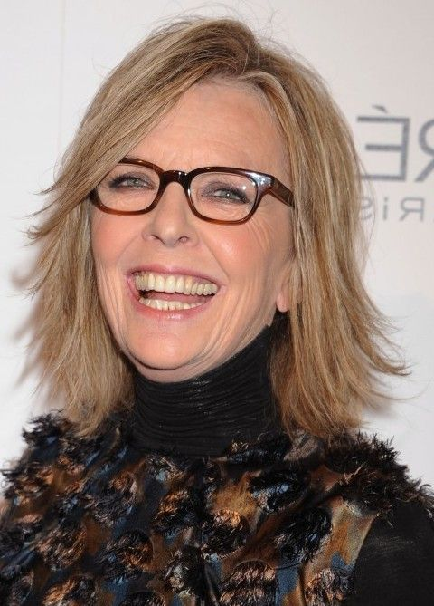 Carefree Cut with Yummy Highlights for Women Over 60! Diane Keaton ...