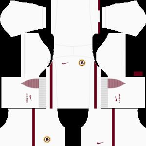 As Roma Kits 2016 2017 Dream League Soccer In 2020 As Roma Soccer Kits Roma