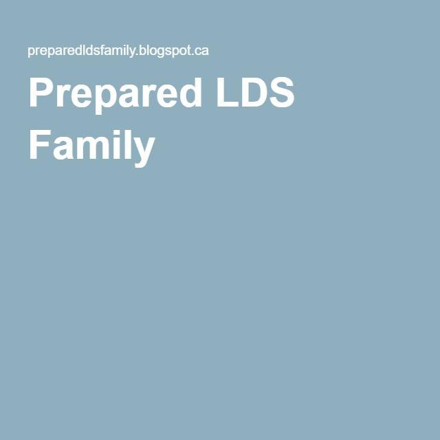 Prepared LDS Family
