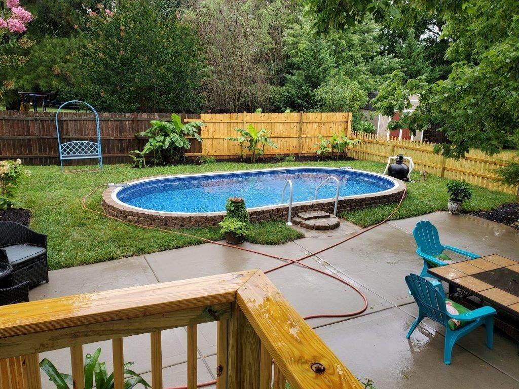 Stealth Semi In Ground Pools Pool Spa Depot In 2020 Pools Backyard Inground Small Inground Pool Swimming Pools Backyard