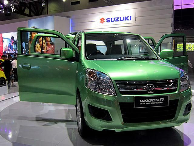 Wagon R 7 Seater May Come To Take On The Upcoming Datsun Go Mpv Mobil