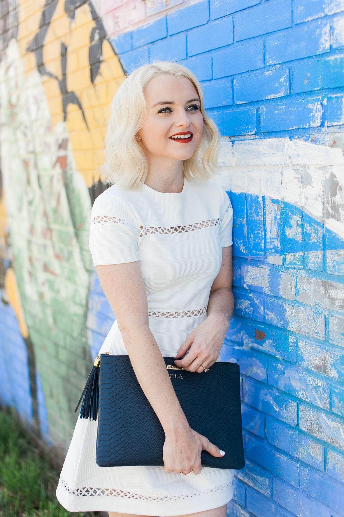 White Skater Dress - Poor Little It Girl