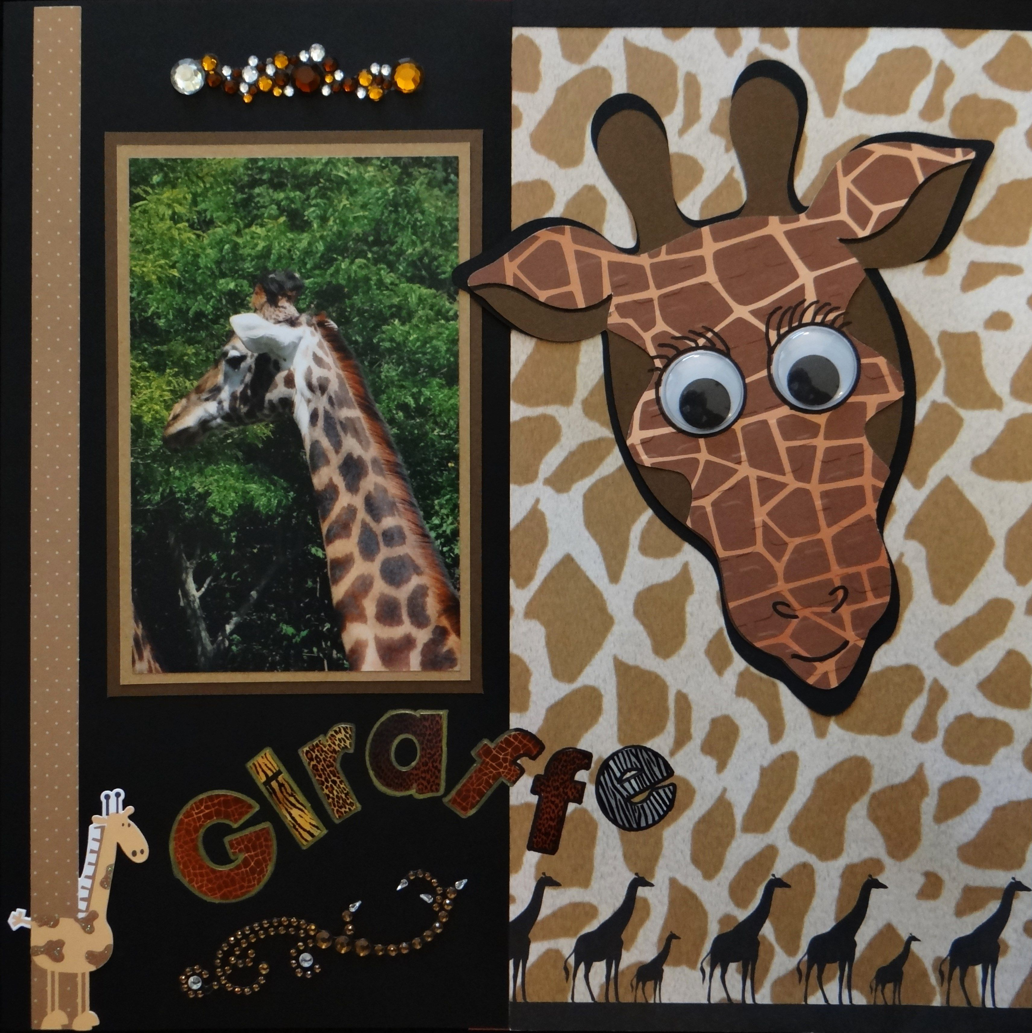 Zoo animal scrapbook ideas - You Will Find Lots Of Little Girl Scrapbook Ideas In The Album Also Great Garden And Zoo Scrapbook Ideas All Made With My Cricut Machine Enjoy My Gallery