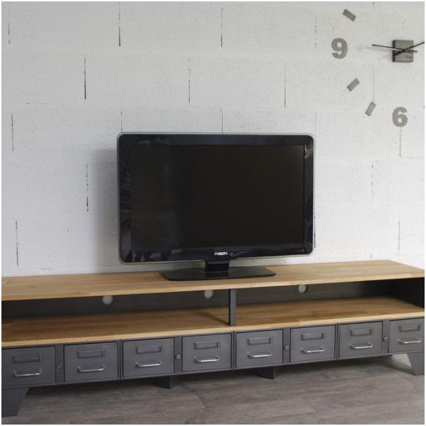 8 Utile Meuble Metallique Ikea En 2020 Meuble Tv Industriel Meuble Tv Meuble Metallique