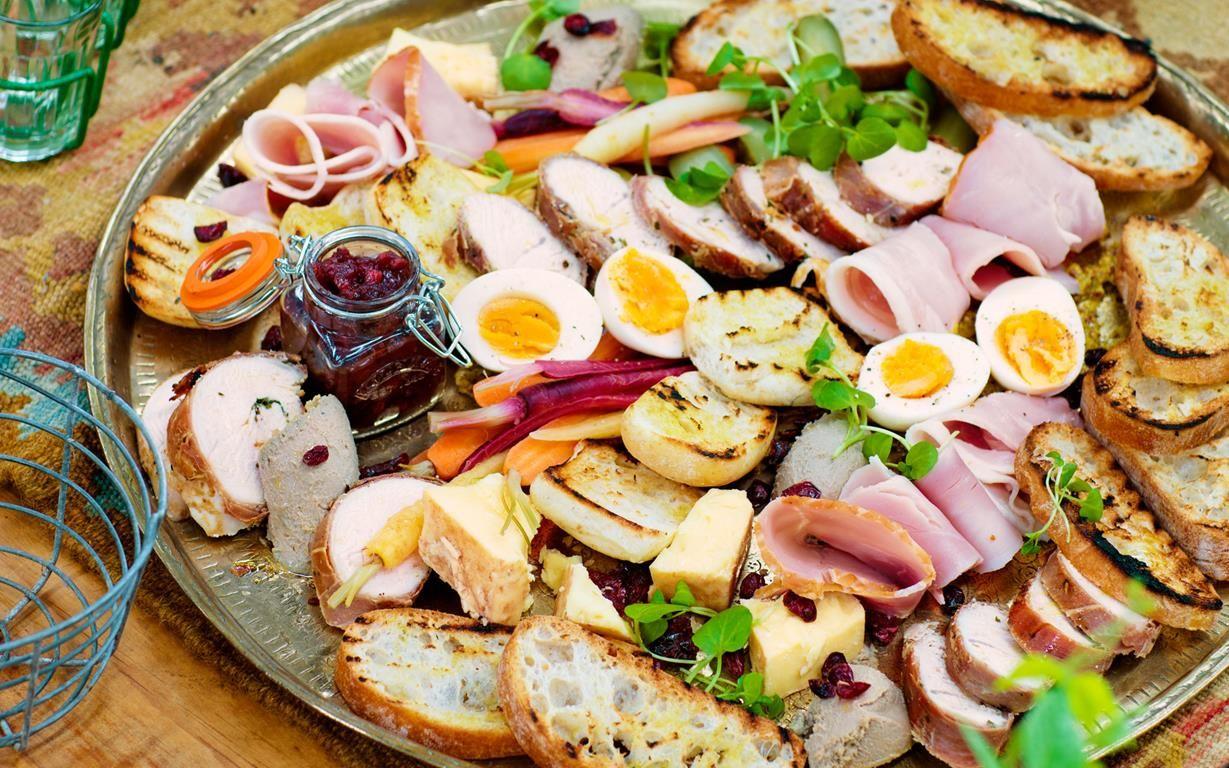 Christmas ploughman's platter Christmas nibbles, Food