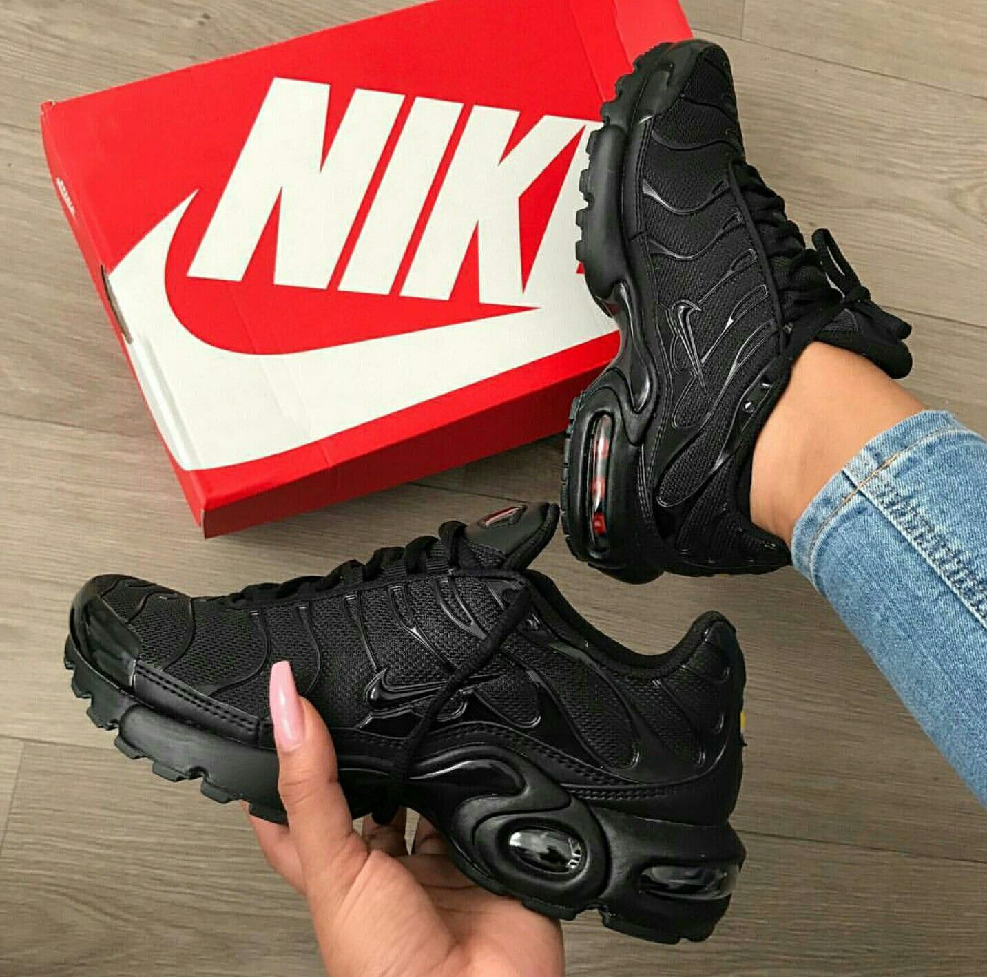 uk availability 20c59 45429  Follow  IllumiLondon for more Streetwear Collections   IllumiLondon Nike  Air Max Black,