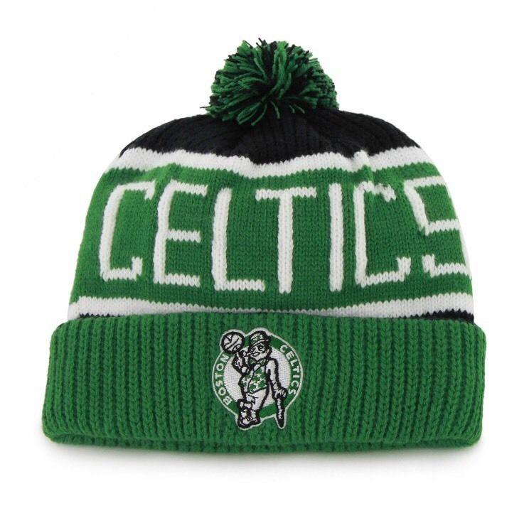 b20adbb9149 Boston Celtics Beanie  NBA  47 Brand Calgary Cuff Knit Hat Pom  Football  from  14.99