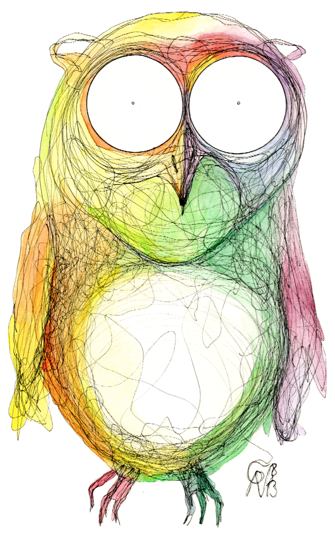 Owl by CharliePV.deviantart.com on @deviantART