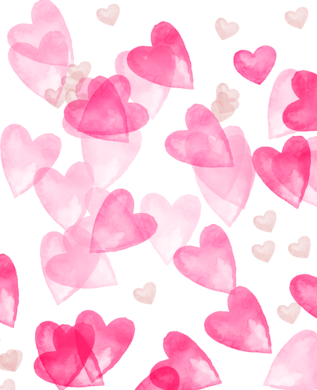 Scattered Heart Watercolor Free Photoshop Brush Set Creative Nerds Valentines Wallpaper Photoshop Brush Set Love Wallpaper Backgrounds