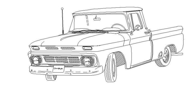 1966 chevy c10 short bed